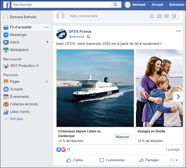 Définition : Post Sponsorisé Facebook » Définitions Marketing