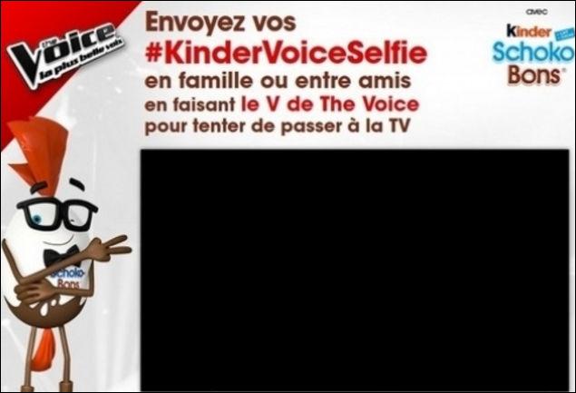 Concours selfie