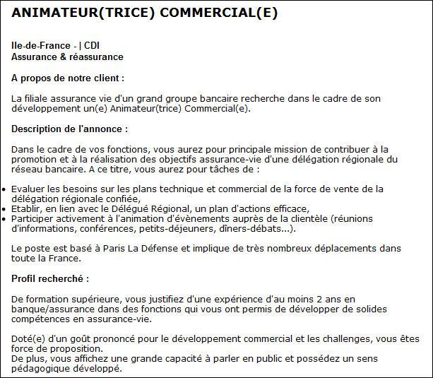 Assez Définition : Animateur commercial » Définitions marketing QP37