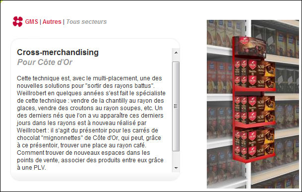 Definition Cross Merchandising Definitions Marketing