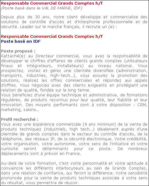 d u00e9finition   responsable grands comptes  u00bb d u00e9finitions marketing