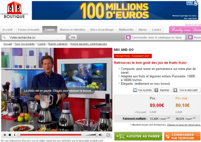 D finition t l achat d finitions marketing for Nrj12 tele achat