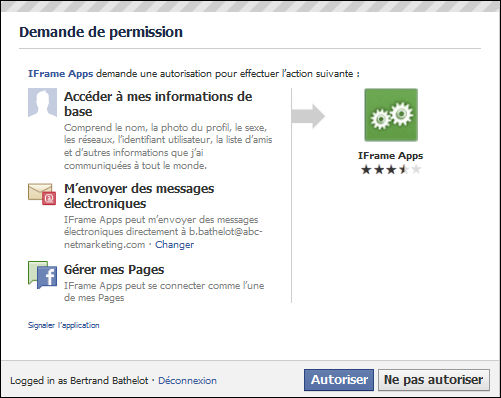 D finition fen tre de permission facebook d finitions for Fenetre meaning