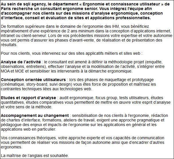 Assez Définition : Ergonome web » Définitions marketing QP37